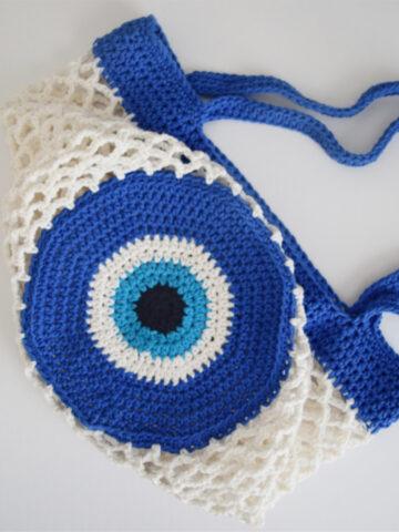 Evil Eye Market Bag