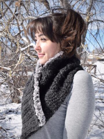 Winter Fell Cowl Crochet Pattern