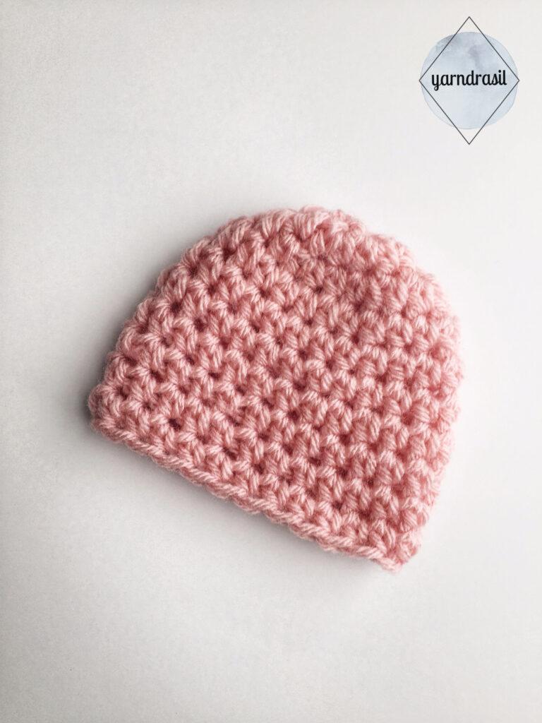Simple Preemie Hat Yarndrasil Free Crochet Pattern