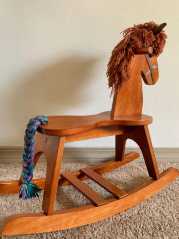 DIY Rocking Horse Upgrade