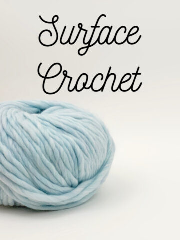 Surface Crochet Tutorial