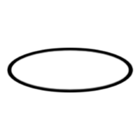 Symbol for chain - oval