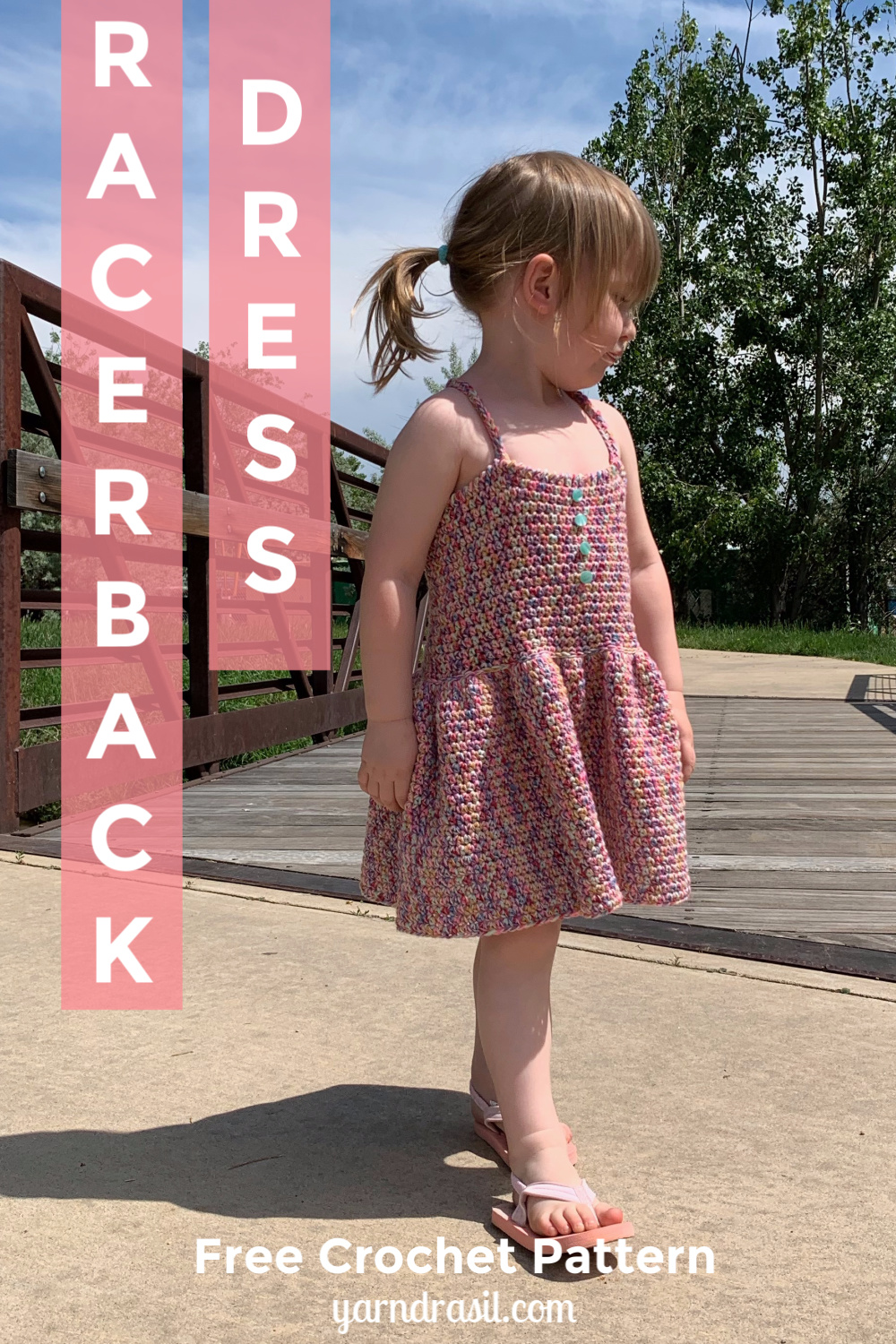Racerback Dress for Toddlers