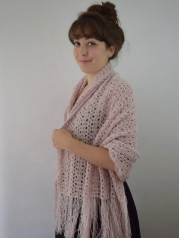 The Nines Shawl, Vintage Reproduction Pattern