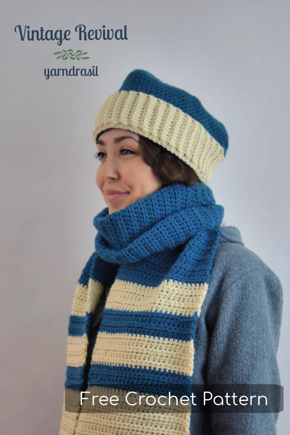 Sport Set Hat Pin for Free Crochet Pattern