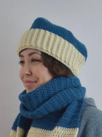 Sport Hat, Crochet Pattern