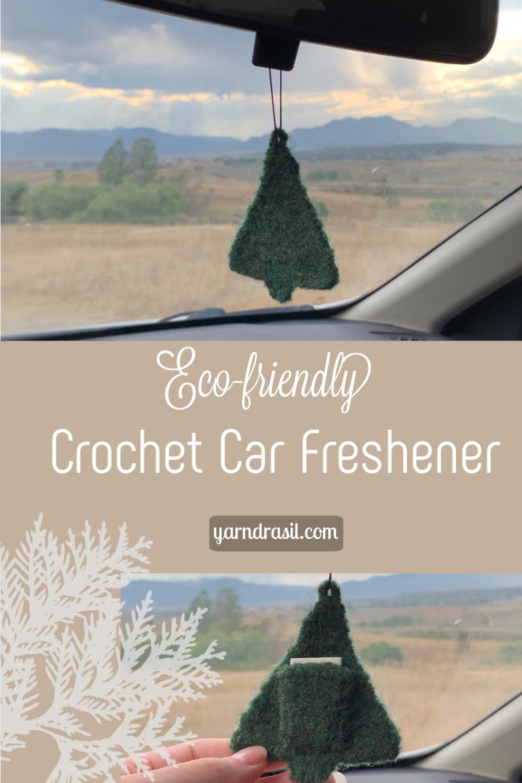 Crocheted Car Freshener