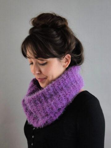 Saeki Cowl Crochet Pattern