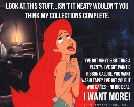 Ariel meme about crafts