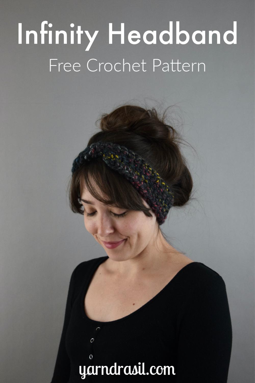 Infinity Headband - Free Crochet Pattern