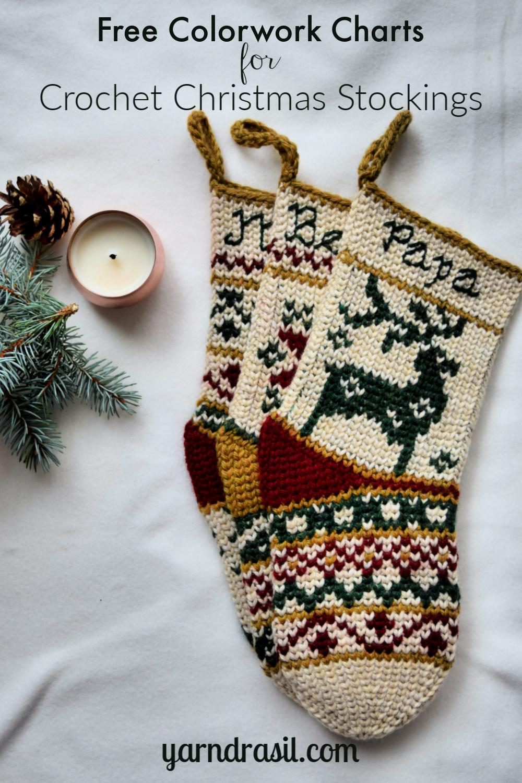 Close-up of Reindeer stocking