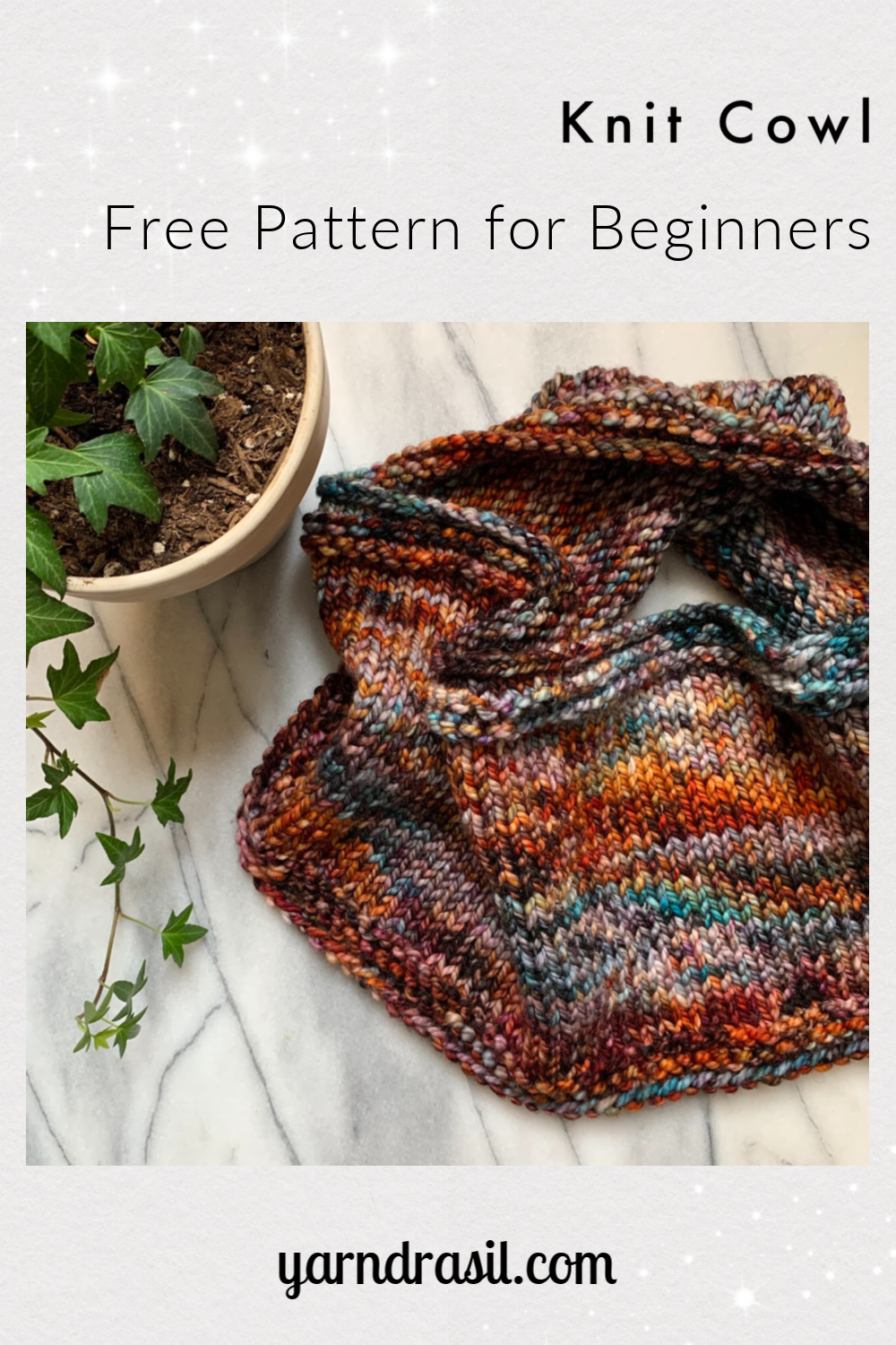 Knit Cowl for Beginners