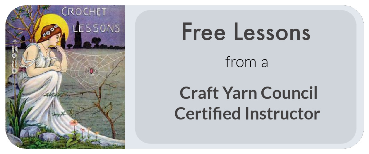 Free Lessons from a Craft Yarn Council Certified Instructor