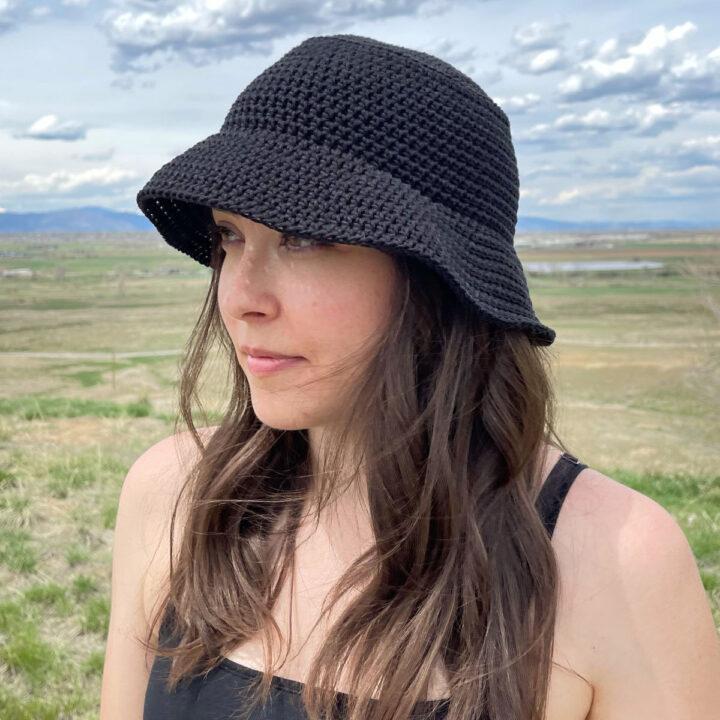 Black Bucket Hat Featured